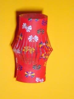 Lampion aus Washi-Papier