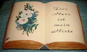 Das Buch der Bücher - Keramik-Buch