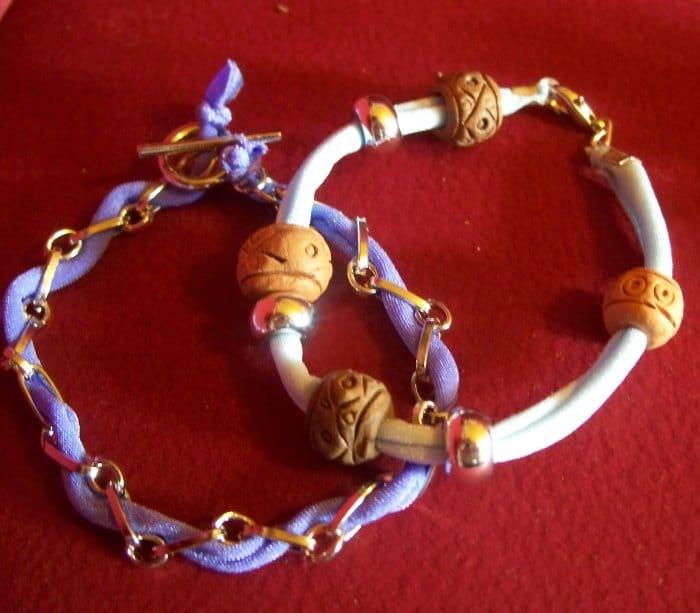 Lycra-Armbänder mit Verschluss