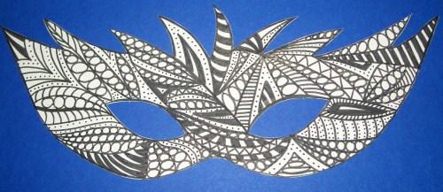 Doodle-Maske