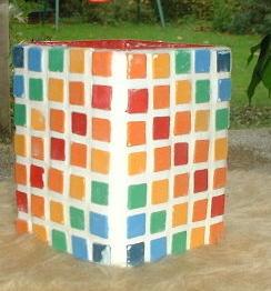 Mosaiksteine basteln