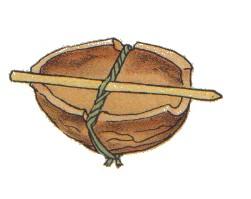 Musikinstrumente aus Naturmaterial