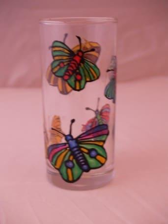 Gläser bemalen mit Glas Design New Art Farben