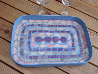Mosaik-Tablett