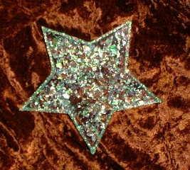 Sterne aus Windradfolie