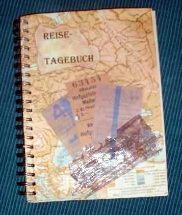 Reisetagebuch selber machen