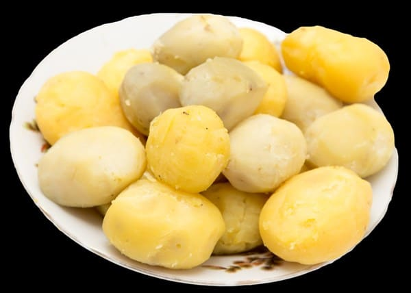 Reste-Essen aus Kartoffeln