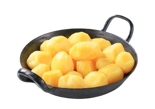 Kartoffelgerichte aus gekochten Kartoffeln