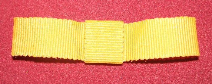 Schleife nähen aus Ripsband