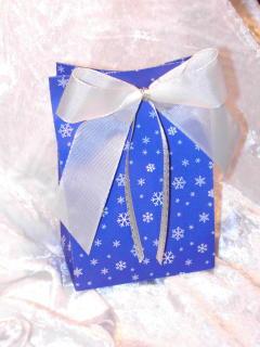 Geschenkverpackung DIY mit Bastelvorlage