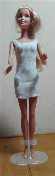 Barbiekleid aus Babysöckchen - Grundanleitung I