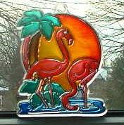 Suncatcher Flamingo