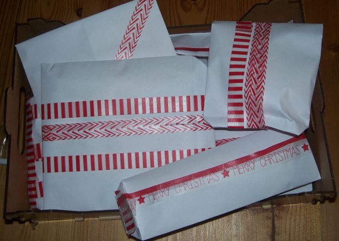 Schnelle Tüten für kleine Geschenke