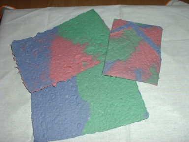 Handgeschöpftes Papier