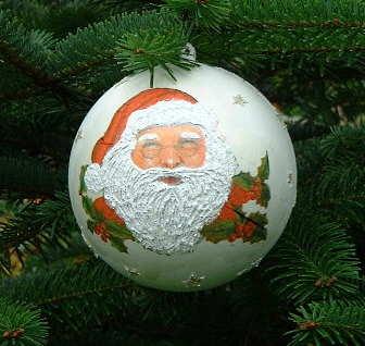 Weihnachtliche Kugel