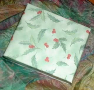 Kleine Schachtel für Geschenke mit Bastelvorlage