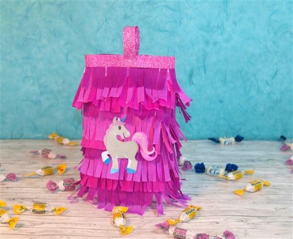 Mini Piñata basteln