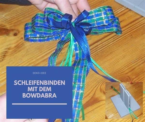 Schleifenbinden mit dem Bowdabra