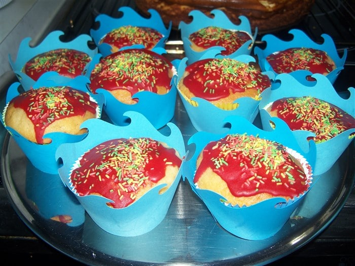 Piratenschiff-Muffins basteln