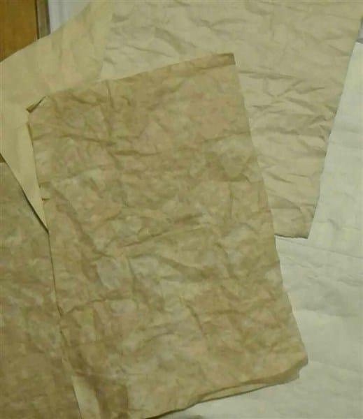 Papier aus Tetra Paks