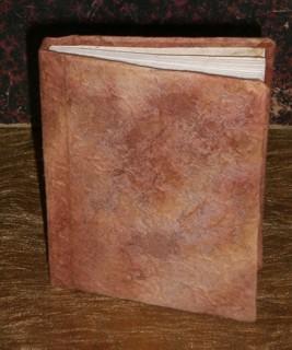 Notizbuch selber machen mit Maulbeerbaumpapier