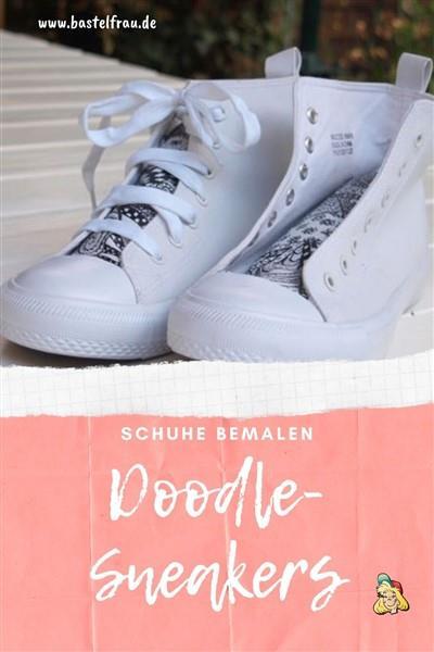 Sneakers bedoodeln
