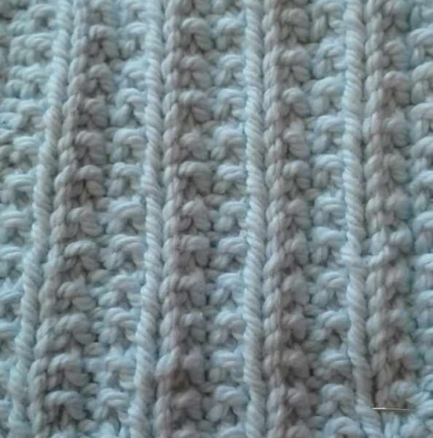 Strickmuster: Falsches Patent