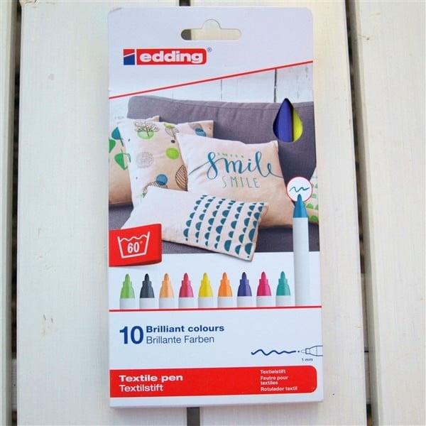 Textilstift Edding Produkttest