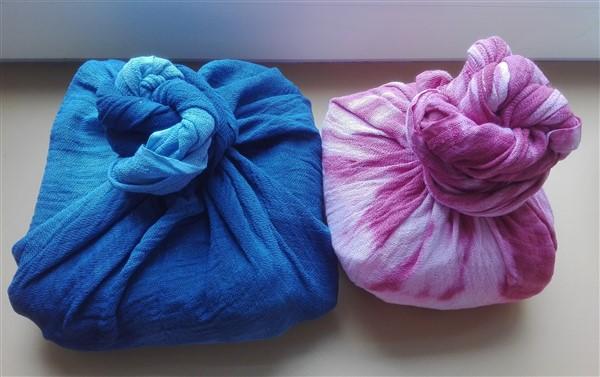 Furoshiki - Kleinigkeiten nachhaltig verpacken