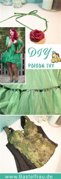 DIY Posion Ivy Kostüm Feenkostün Waldelfe