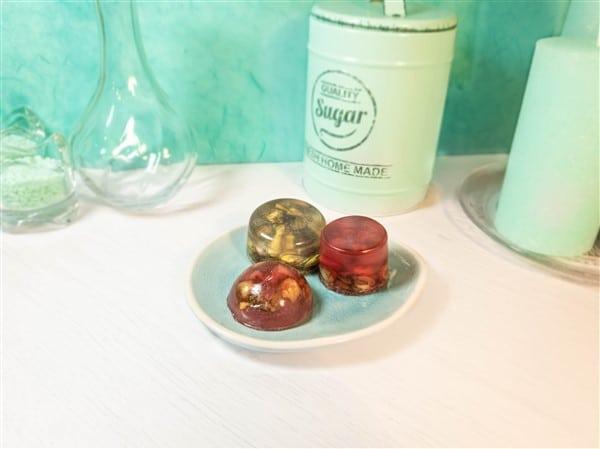 Rosenseife Selbermachen als Geschenk