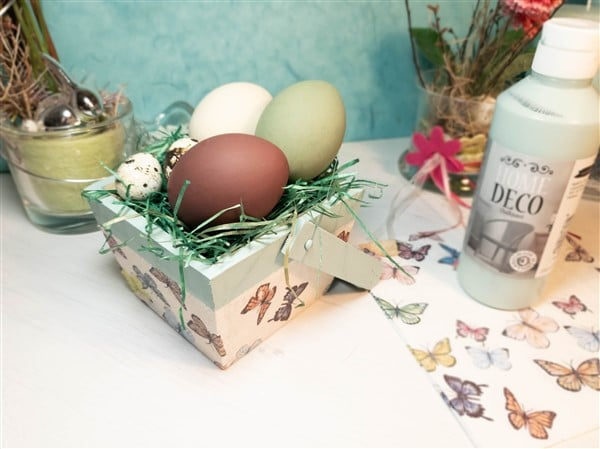 Osternester selber machen