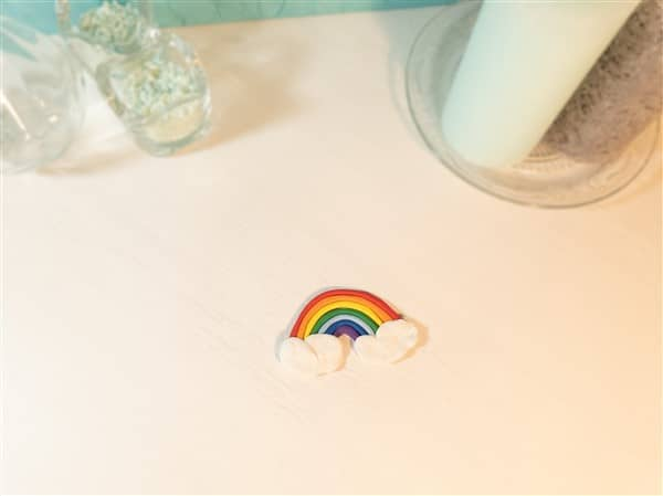 DIY Radiergummi Regenbogen