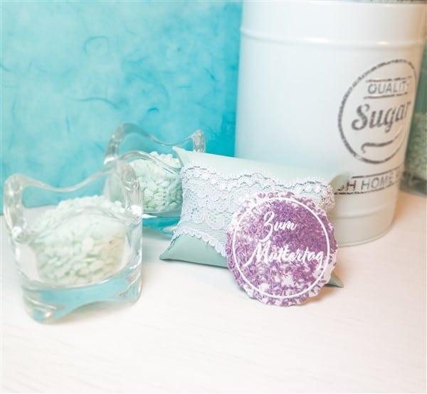 DIY Geschenkverpackung: Seifenverpackung aus Klopapierrollen selber machen