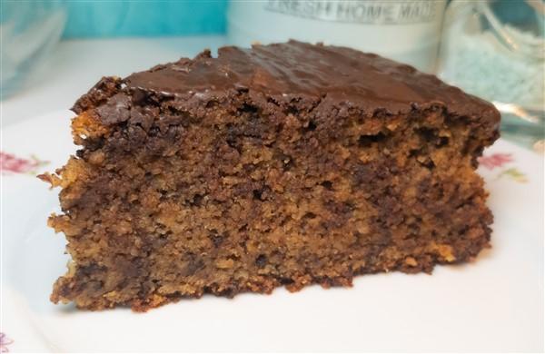 Zuckerfreier Slow Carb Schokoladenkuchen mit Dinkel