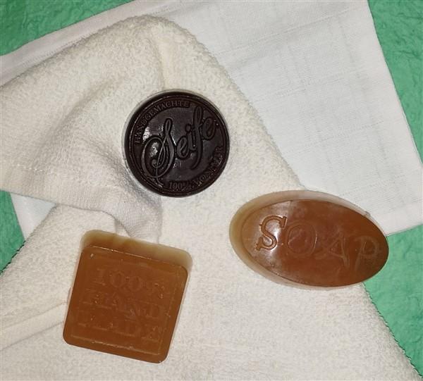 Seife gießen für empfindliche Haut