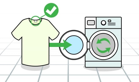 Wasch-und Pflegeetiketten erstellen