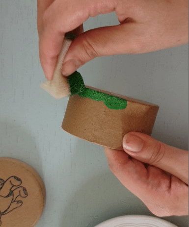 DIY Wassermelonen-Dose
