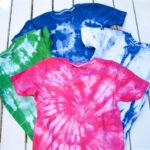 Kinder-T-Shirts batiken