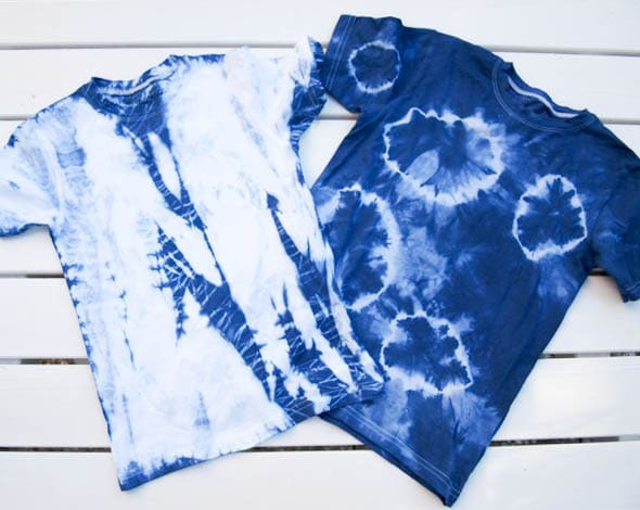 Kinder T-Shirts batiken