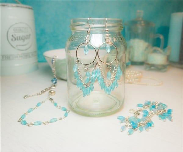 DIY Schmuck: Perlen-Ohrringe selber basteln