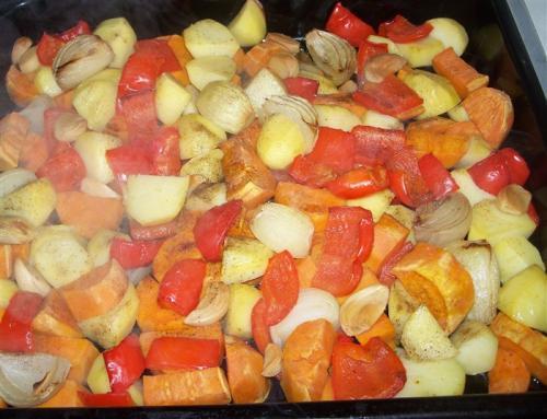 Süßkartoffel-Auflauf