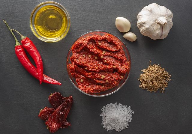 Harissa - Rezept für Tunesische Chilipaste (Hressa)