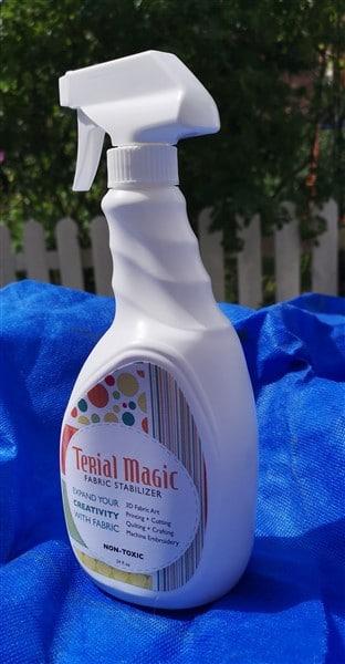 Produktvorstellung Terial Magic Stoff Stabilisator