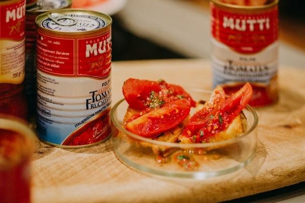 Ein Foto für die Tomate