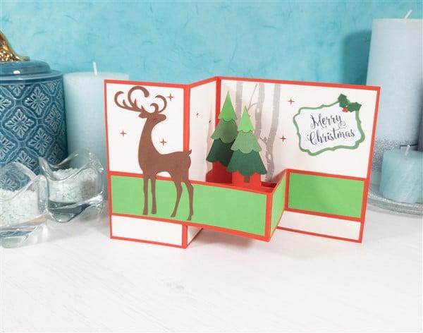 Weihnachtskarten mit dem Hobbyplotter basteln