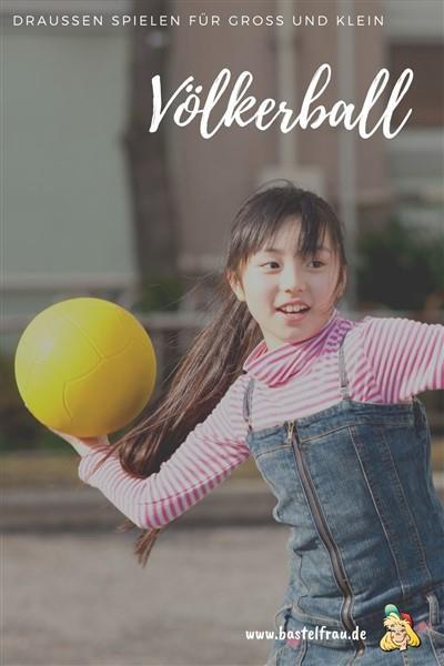 Völkerball spielen