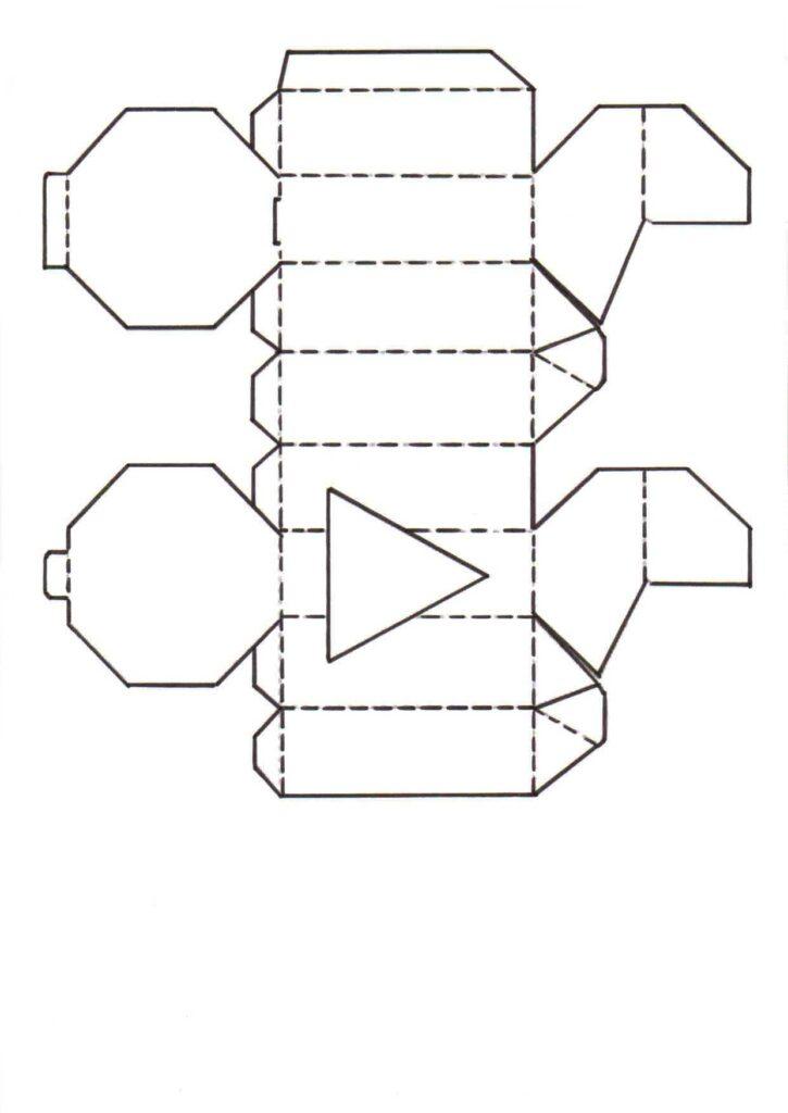 Bastelvorlagen für Taschen und Schachteln