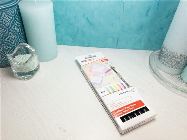 Produktvorstellung: Edding 1200 Fasermaler in traumhaftem Pastell