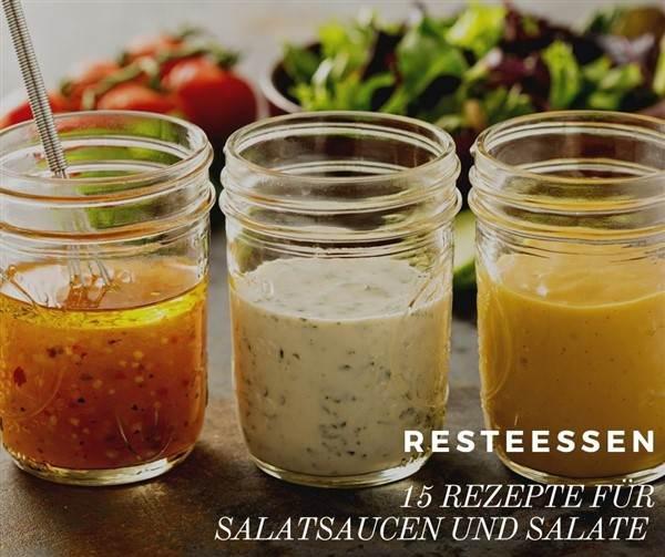 Rezepte für Salatsaucen